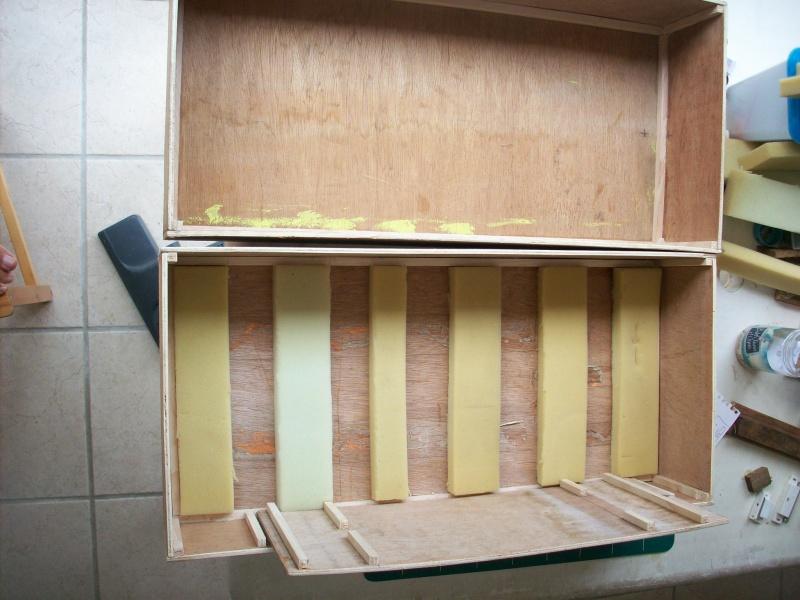fabrication d'une caisse de transport pour le scania 9764651008903