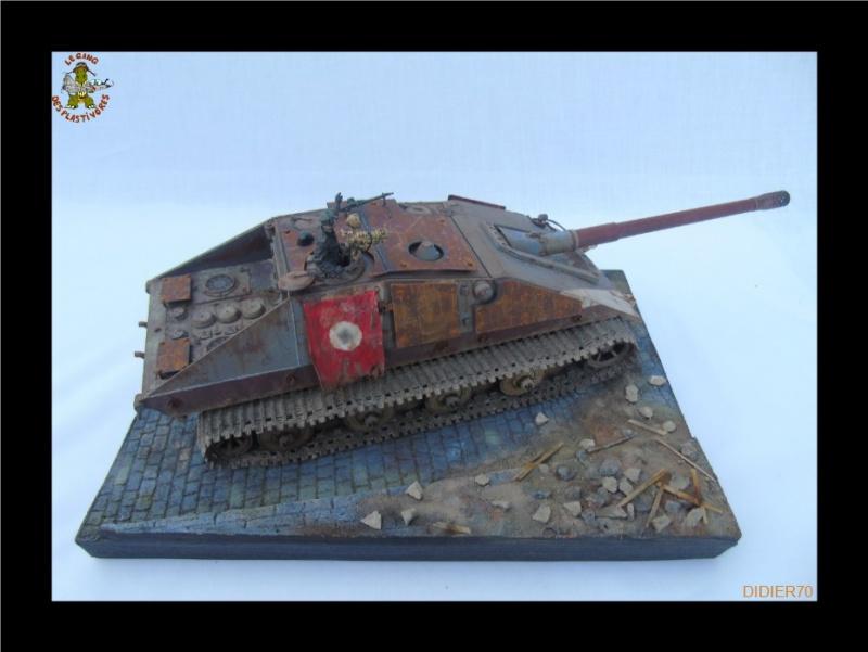 E-100 Jagdpanzer Krocodil 1/35 trumpeter 976998Sanstitre16GF