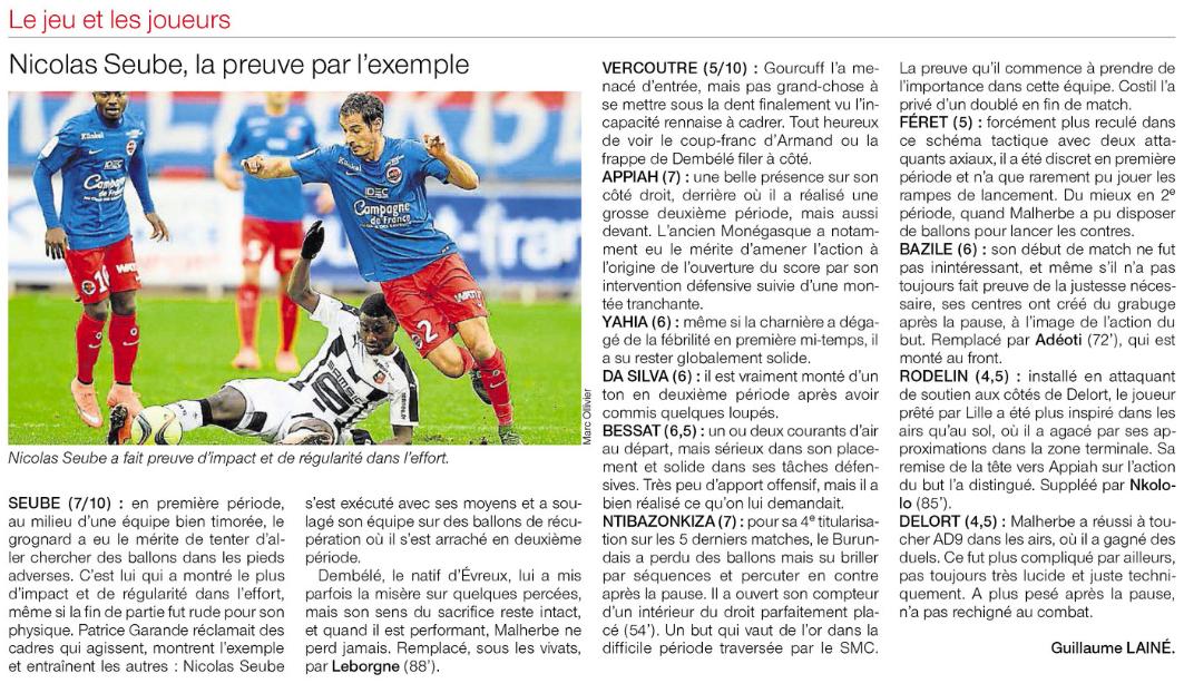 [27e journée de L1] SM Caen 1-0 Stade Rennais 978168rennes2