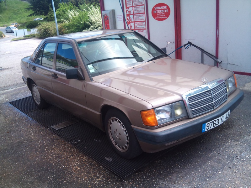 Mercedes 190 1.8 BVA, mon nouveau dailly - Page 8 978330DSC2281
