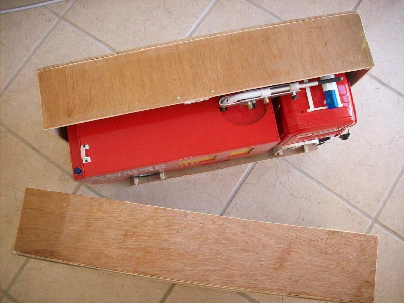 fabrication d'une caisse de transport pour le scania 9784181008910