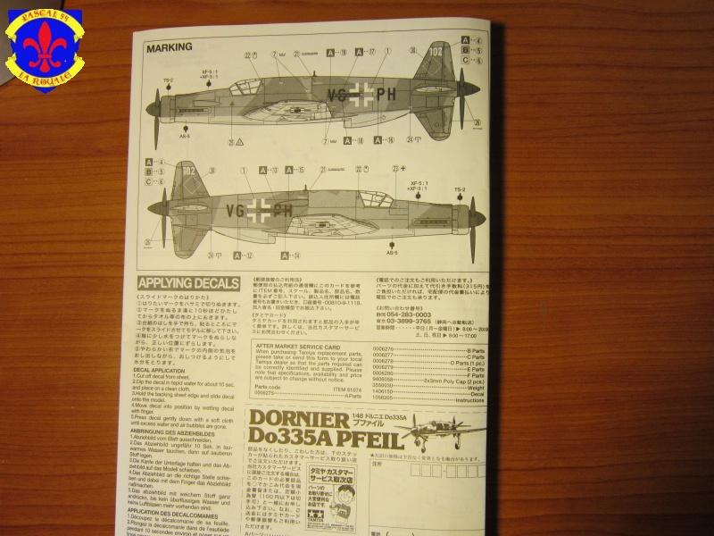 Dornier 335A PFEIL de Tamiya au 1/48e 978565IMG0614L