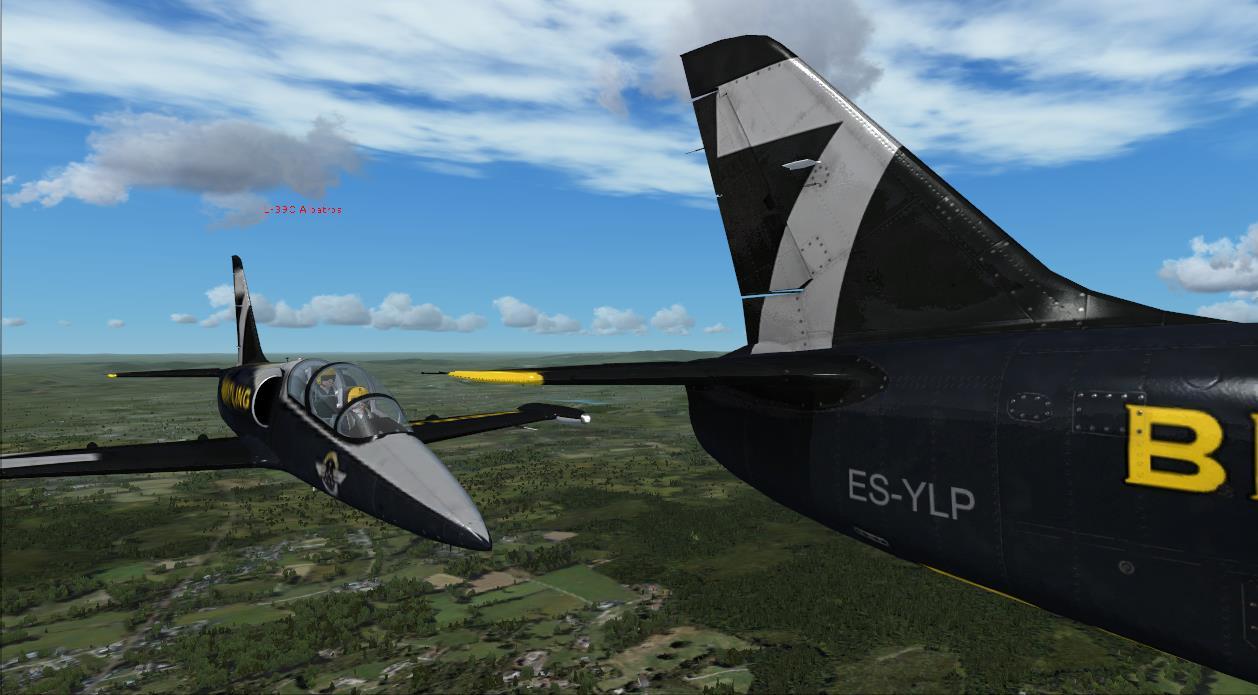 Entrainement au vol en patrouille  avec Manu ! 98066220144415953617