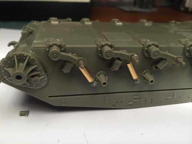 M24 Chaffee light tank, AFV Club 1/35 981894IMG35581