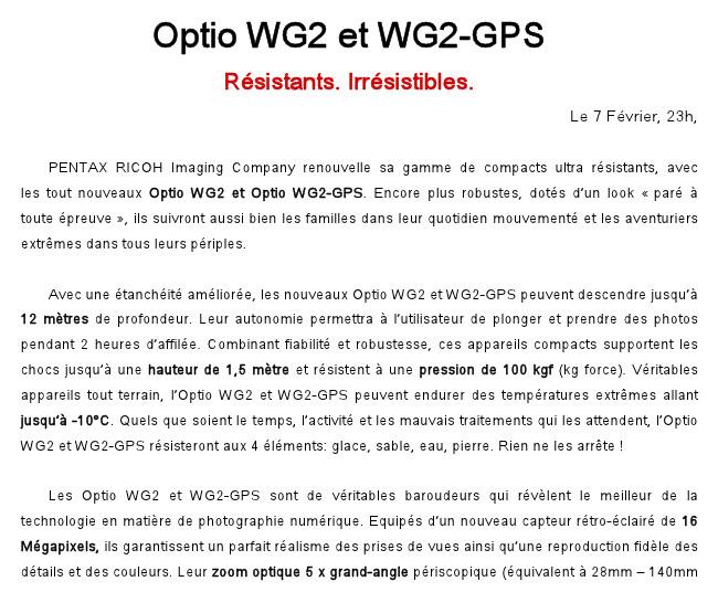 Fil dédié au Pentax WG2 et WG2 GPS 982111Pressepapiers2