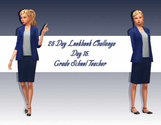 [Look] 25 Day Lookbook Challenge  983009Jour15