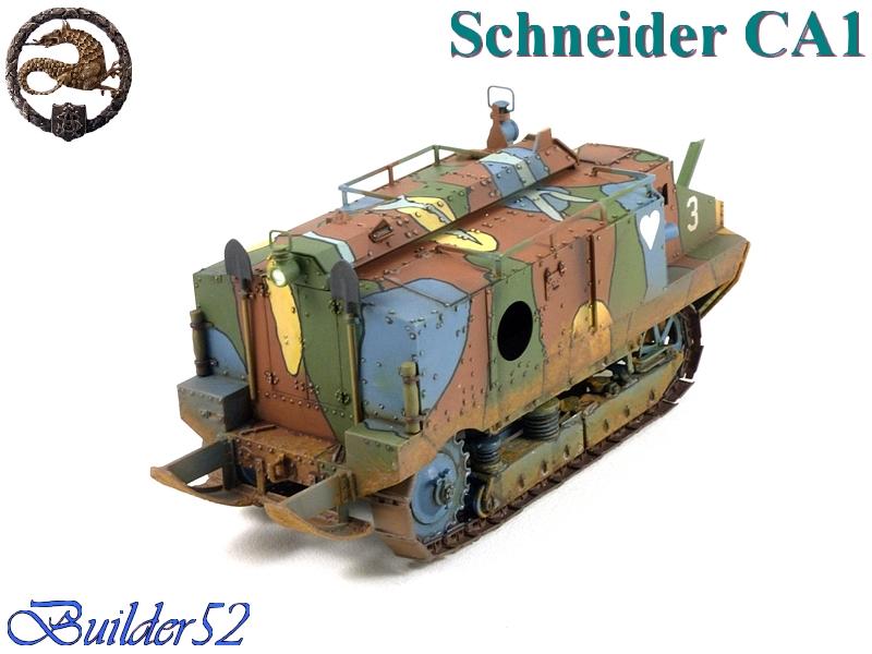 CHAR SCHNEIDER CA 1 - HOBBY BOSS 1/35 983531P1040966