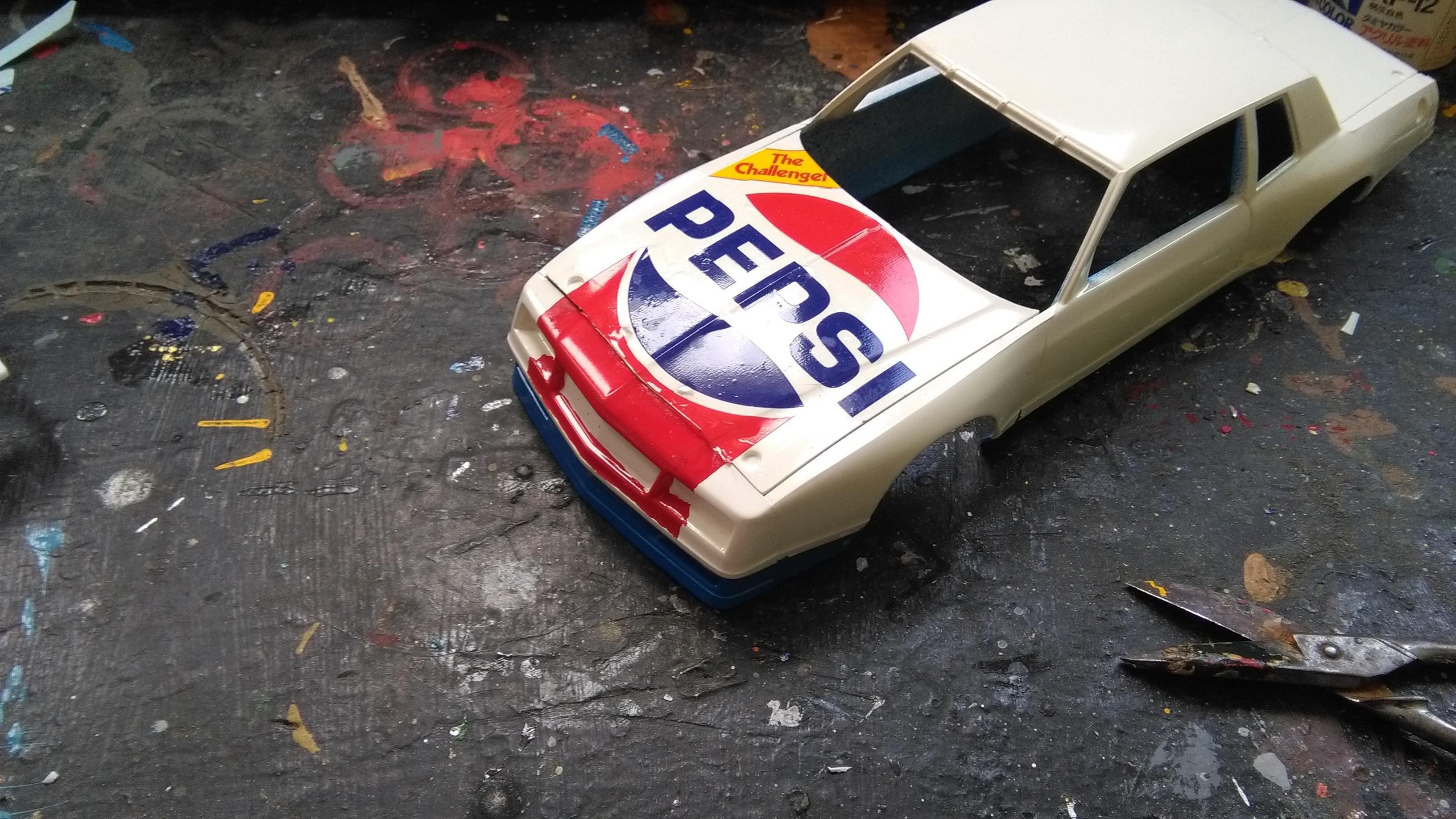 Chevy Monte-Carlo 1983 #11 Darrell Waltrip Pepsi  984435IMG20170429133241