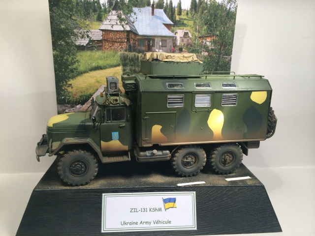 ZIL-131 KShM (Ukraine Army°) 1/35 ICM 984892finZIL001