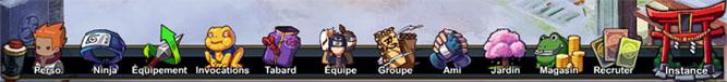 Les icônes et de l'écran de jeu 985222001