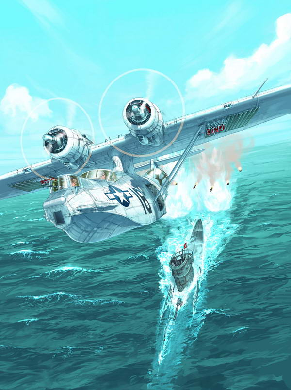 Consolidated PBY-5A Catalina 9858770320CatalinaRomain20Hugault
