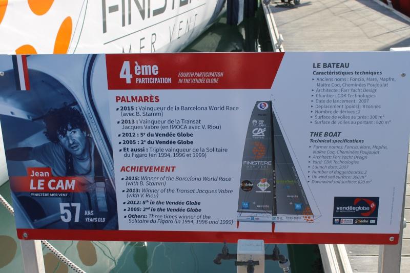 Visite du village et du ponton du Vendée Globe le 25/10/16 986039IMG4569