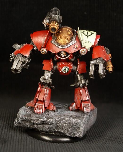 Vitrine de Phil54 - Nains Warhammer 987117MechanicumCastellax1