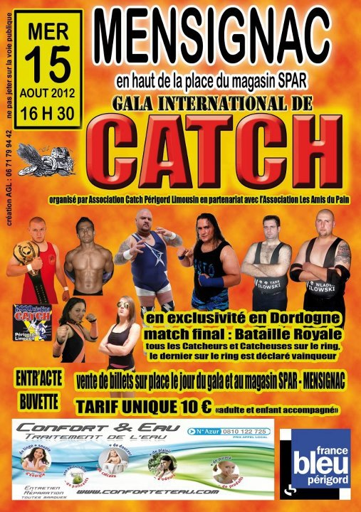 Résultats Gala International de Catch à Mensignac 987732mensignac