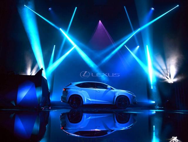 Un Lexus Déssiné Par WILL.I.AM Révélé Lors D'une Soirée Exclusive à Paris 987994LexusNX5