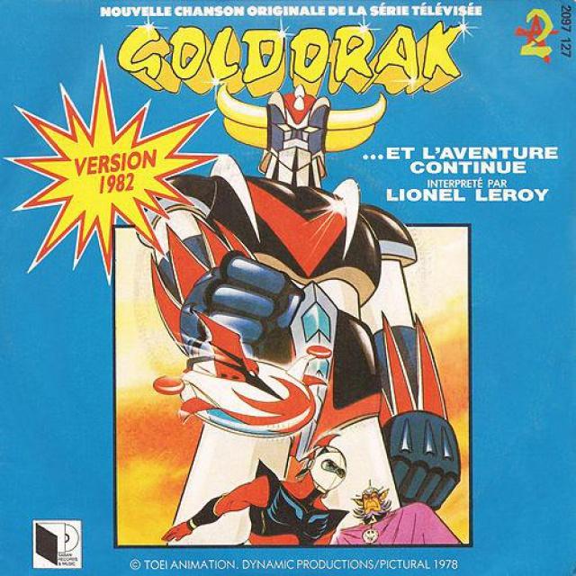 33 T Goldorak par Lionel LEROY - Sortie 2018 989526Cover