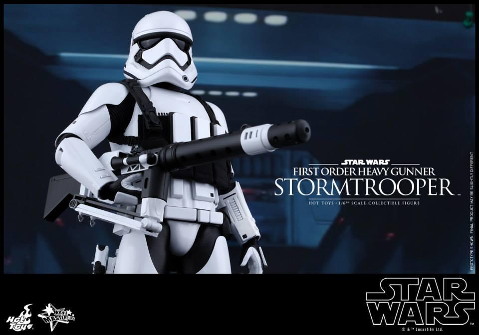 HOT TOYS - SW7: TFA - First Order Heavy Gunner Stormtrooper 992996114