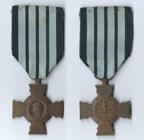 Croix du Combattant VICHY 993645vichy1