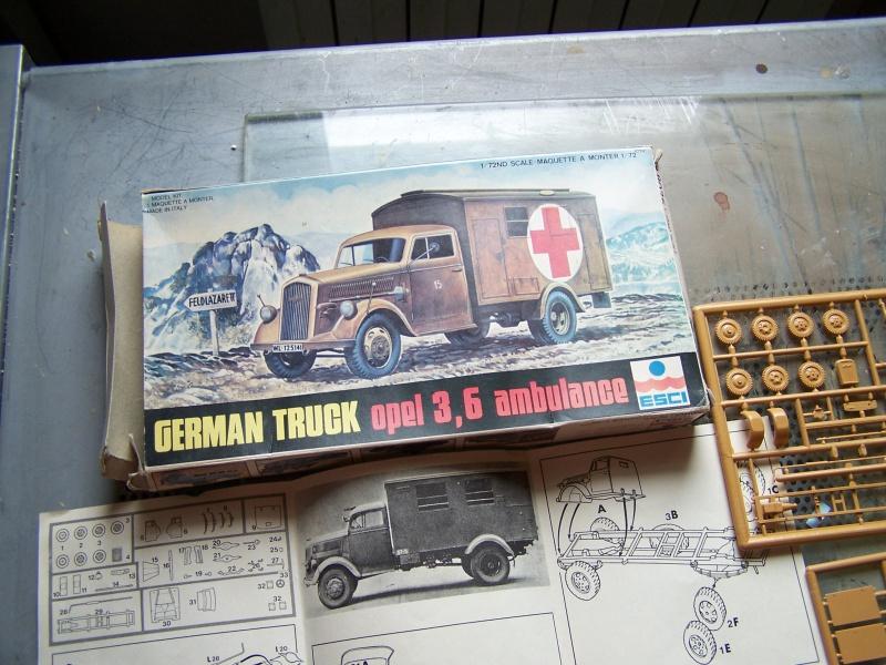 Opel Blitz Ambulance Normandie été 1944 9956291005833