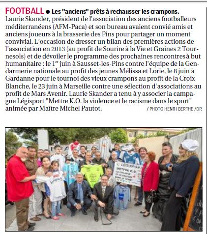 SPORTS DES CLUBS DE  MARSEILLE OU DE SA PERIPHERIE ........... - Page 3 996252185