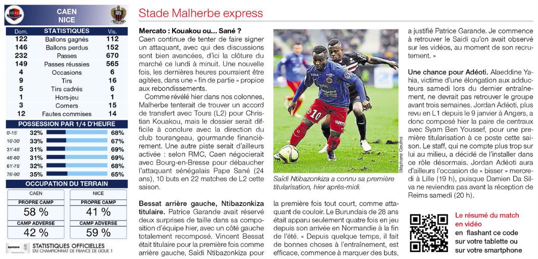 [23e journée de L1] SM Caen 2-0 OGC Nice - Page 2 996317nice3