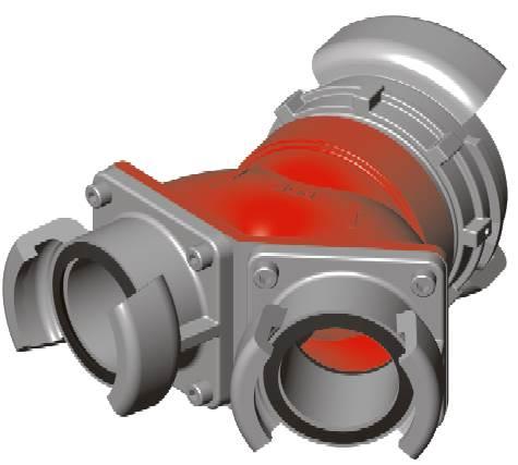 Accessoires hydrauliques 996652Collecteur