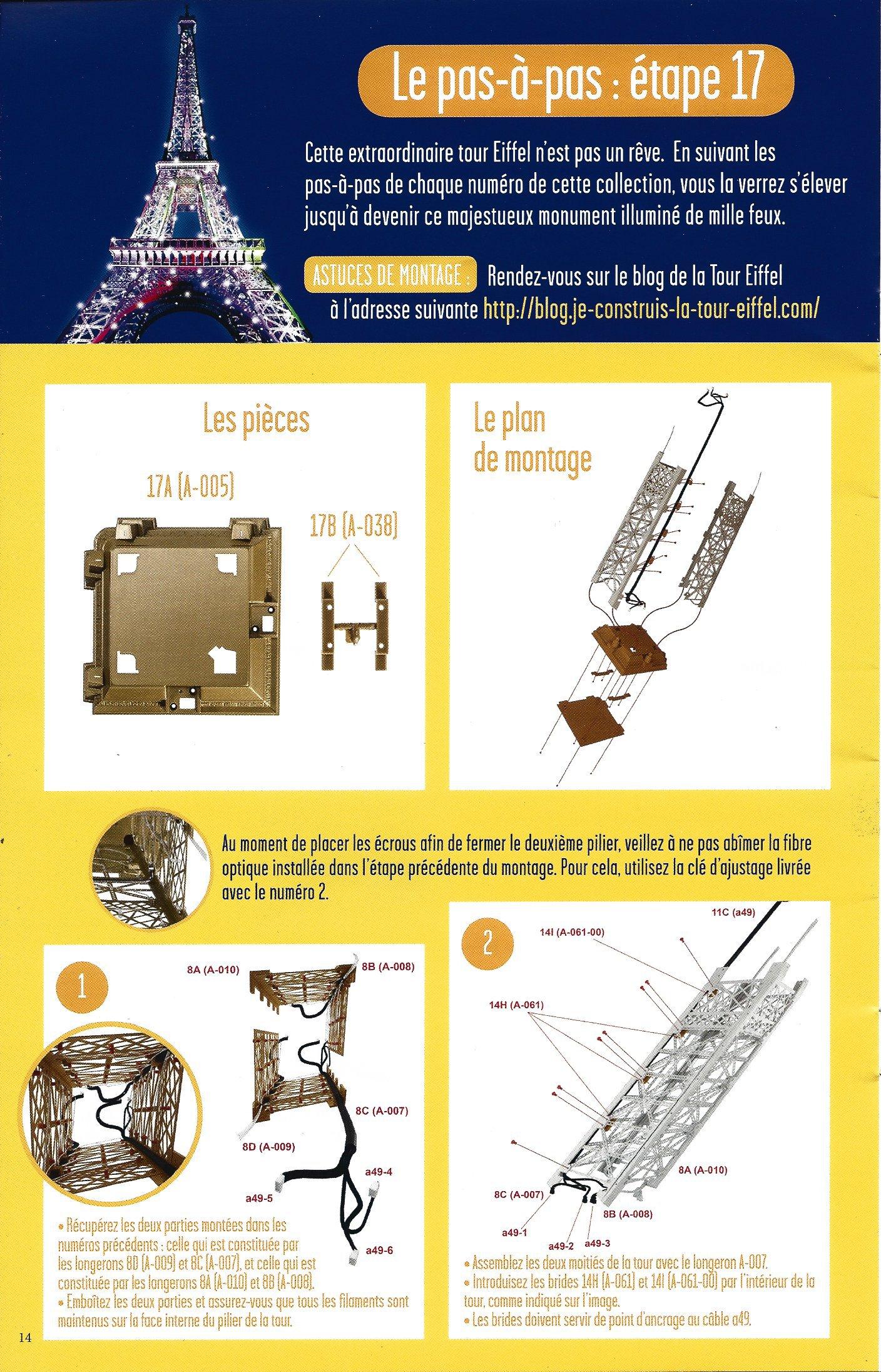 Numéro 17 - Je construis la Tour Eiffel - Autour de la Tour 99675117b