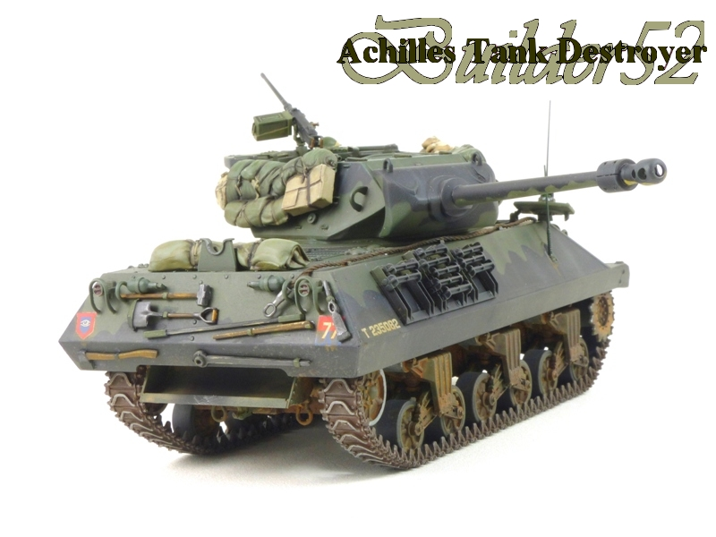 Achilles Tank Destroyer - Academy-Italeri + RB Model + set Blast 1/35 996754P1040536