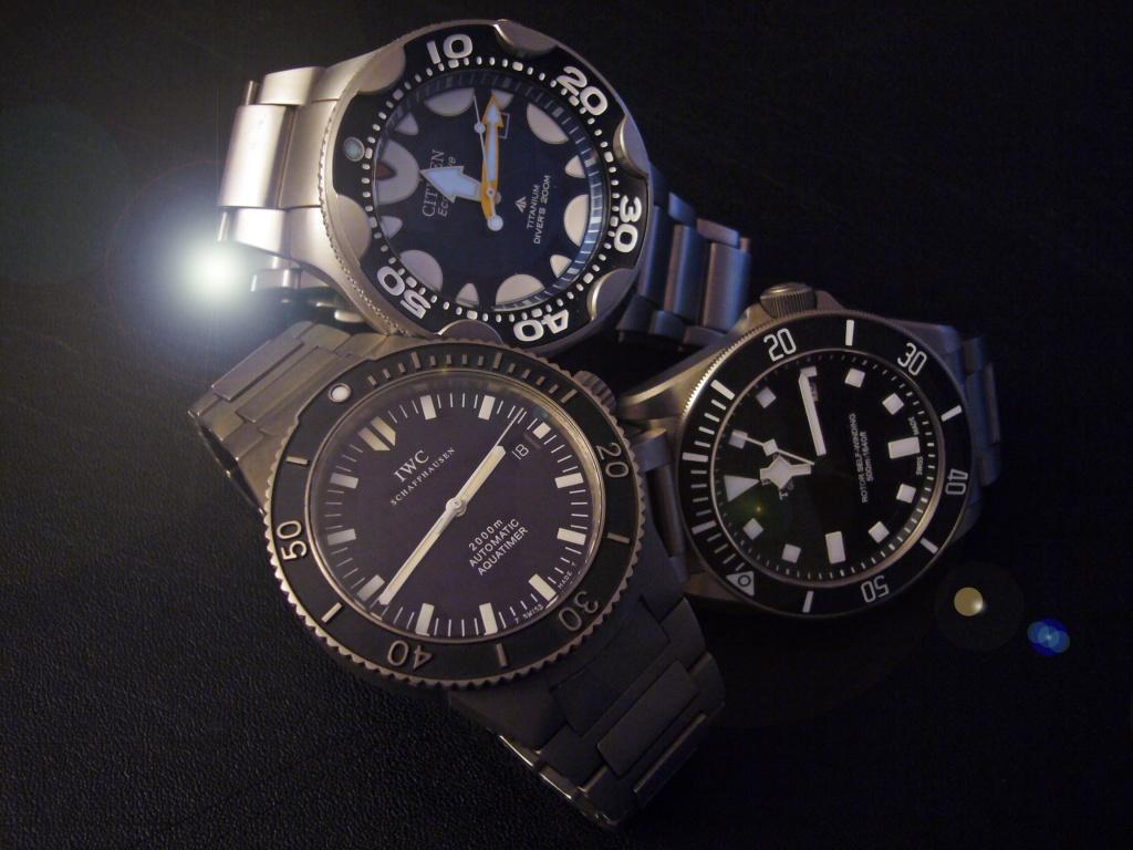 IWC Aquatimer GST 3536 998062titane