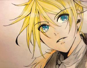 Dessins Manga, manga et...heu...manga =w=' Mini_132262SynchronicityLenKagamine