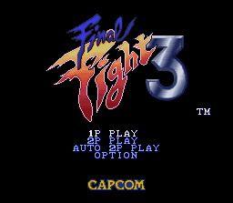 Final Fight 3 - Fiche de jeu Mini_167828661