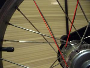 Roue arrière - Moyeu Mini_249806rayons1