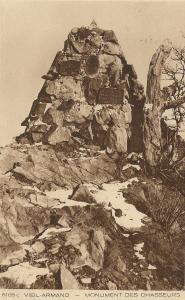 Vieil-Armand/HARTMANNSWILLERKOPF  - Monuments des chasseurs  Mini_2528621933VielArmandMonumentChasseurs