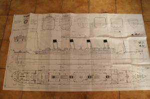 RMS Titanic 1/200e Mini_278818Plangnral
