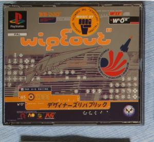 "Jeux ""multi-version"" black label PS1 Mini_283249Wipeout2"