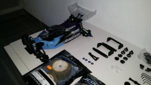 VENDS 4x4 B44.3 TEAM ASSOCIATED peu servit tres bon état Mini_42844720151115162703