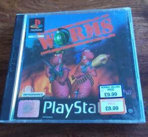 "Jeux ""multi-version"" black label PS1 Mini_503481Worms1"