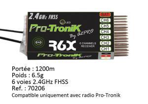 Mode - Nouvelle radio Pro-Tronik ptr6a v2 mode 1,2,3 et 4! Mini_601446A2P701002