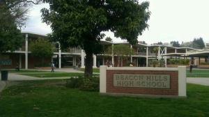 Le lycée de Beacon Hills