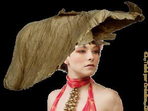 femmes Chapeau Mini_64910211papierplisse