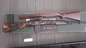 [Vente]SIG 556 DMR / M14 TM / Poches Et Veste Tactique Od / Lunette Ess / Acog + Lunette/M14 We gbbr Mini_674505DSC0793