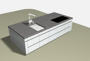 """Challenge thème : """"modélisation et rendu d'une maison atypique"""" - Silk37 & SB - ArchiCAD 17 - 3DS/V-Ray - Photoshop Mini_688083OLSHouseIlotCentral"""