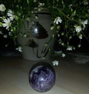 Sphère d'Améthyste. Mini_703391Amethyste