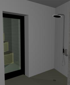 """Challenge thème : """"modélisation et rendu d'une maison atypique"""" - Silk37 & SB - ArchiCAD 17 - 3DS/V-Ray - Photoshop Mini_740277OLSHouseSpaVue2"""