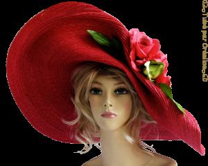 femmes Chapeau Mini_89739711capelinerose