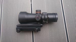 [Vente]SIG 556 DMR / M14 TM / Poches Et Veste Tactique Od / Lunette Ess / Acog + Lunette/M14 We gbbr Mini_974172DSC0804