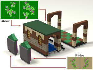[MOC] Boîte de présentation Moi et mon dragon, en mini-maison de campagne Mini_992957boite05maison01Bloc00
