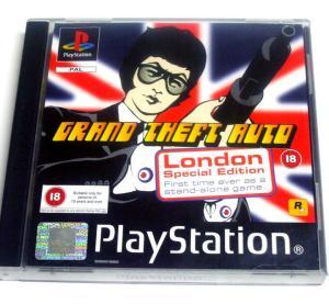 """Jeux """"multi-version"""" black label PS1 Mini_996651GTALondon2"""