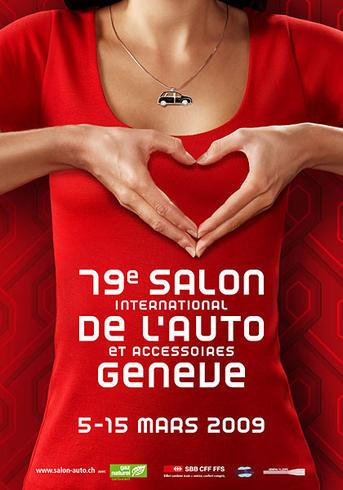 2009 - [Suisse] Salon de Genève 166885028C01EA01702100_photo_salon_geneve_2009_affiche