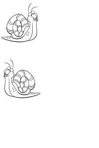 activité escargot avec gabarits... en décorat° ou par temps de pluie 870280Escargots